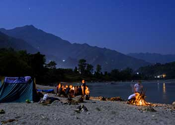 Mountain Biking, Short Hiking and Camping Tour in Nepal