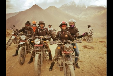 Motor Biking in Nepal